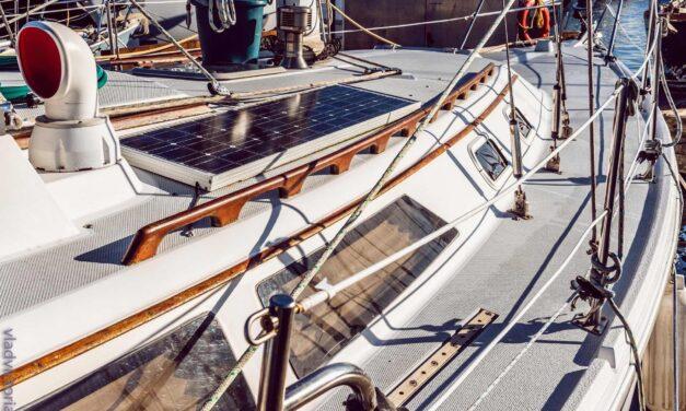 Solceller til båden